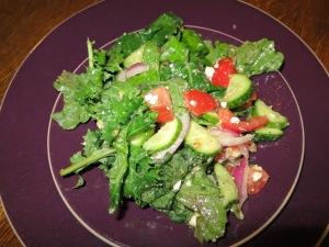 Kale Salad with Feta