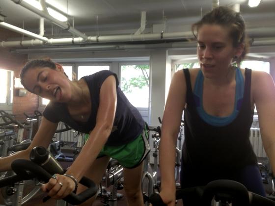 Leider Frau Carolyn reminded me why I love spinning so much