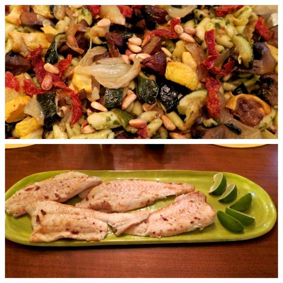 fish & pasta 070213