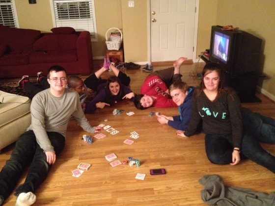 Poker in SC i The next generation!