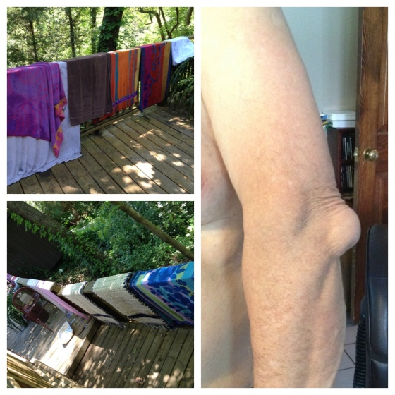 Towels & elbow