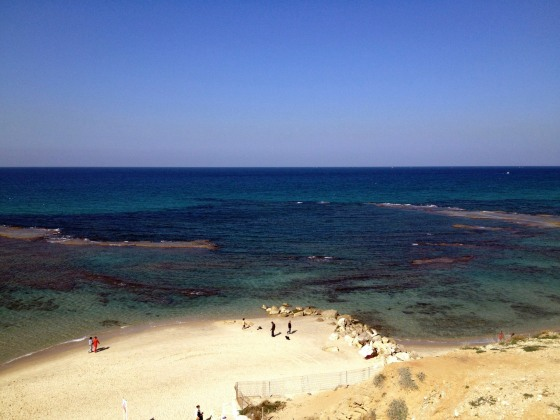 View from my favorite jogging site, Tel Aviv's Tayelet