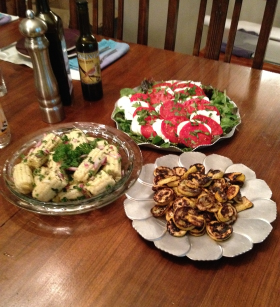 Alabama Summer Veggies for Shabbat