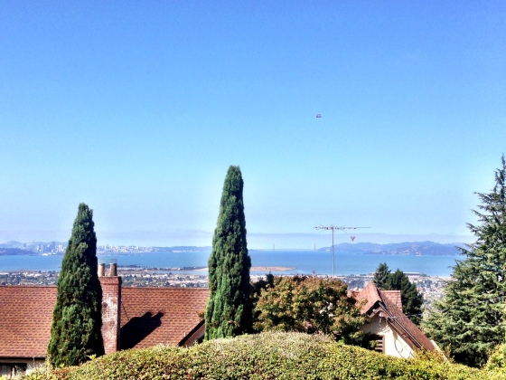 View of the bay from my new home