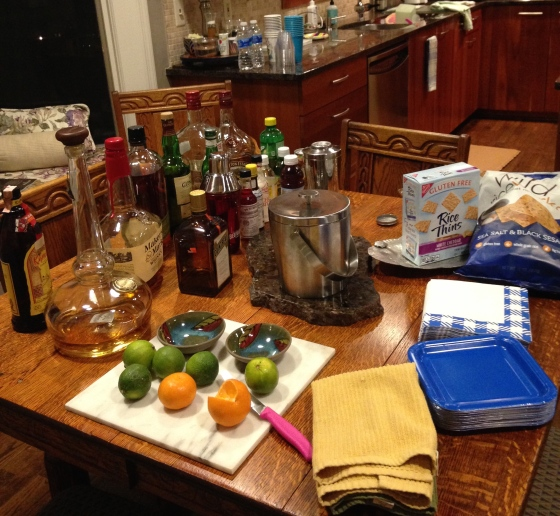 Getting ready for New Year's Eve
